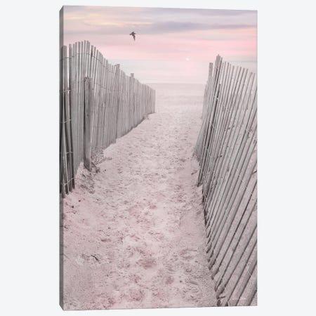 Pink Beach Sunrise Canvas Print #LOD451} by Lori Deiter Art Print