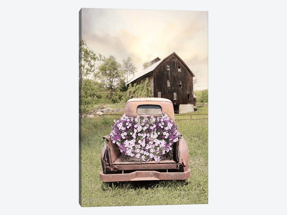 Petunia Truck by Lori Deiter 1-piece Art Print