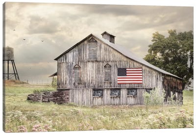 Rural Virginia Barn Canvas Art Print