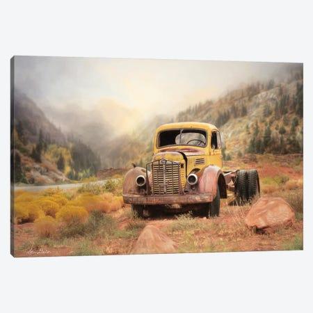 Southwestern Relic Canvas Print #LOD58} by Lori Deiter Art Print