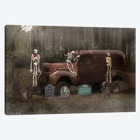 Spooky Crew Canvas Print #LOD59} by Lori Deiter Canvas Print