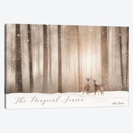 The Magical Season Canvas Print #LOD66} by Lori Deiter Art Print