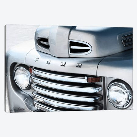 Tough Like a Ford Canvas Print #LOD69} by Lori Deiter Canvas Wall Art