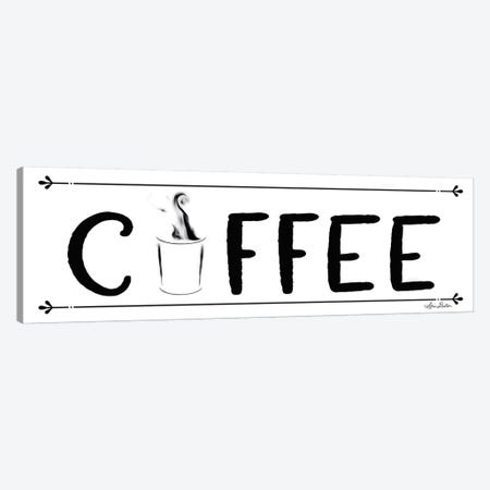 Coffee Banner Canvas Print #LOD83} by Lori Deiter Canvas Artwork