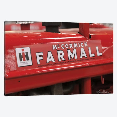 Farmall Canvas Print #LOD87} by Lori Deiter Canvas Art Print