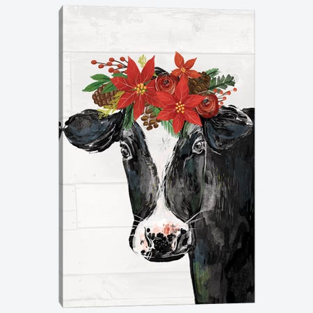 Country Christmas III Canvas Print #LOH10} by Loni Harris Canvas Art Print
