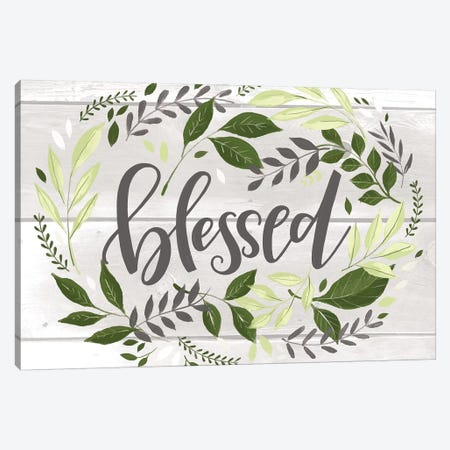Blessed Canvas Print #LOH18} by Loni Harris Canvas Art Print