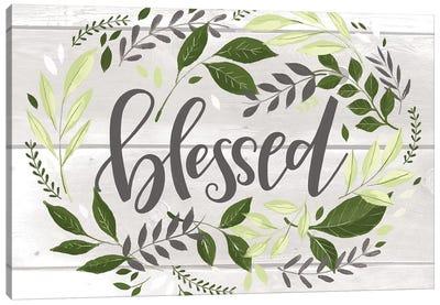 Blessed Canvas Art Print