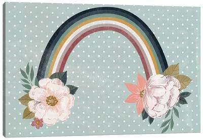 Baby Woodland Lullaby V Canvas Art Print
