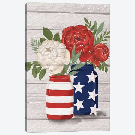 July 4th On The Farm III Canvas Print #LOH27} by Loni Harris Art Print