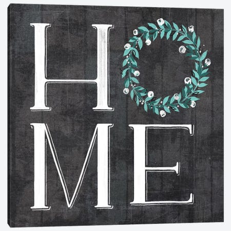 Farmhouse Everyday Plow And Teal II Canvas Print #LOH34} by Loni Harris Canvas Art