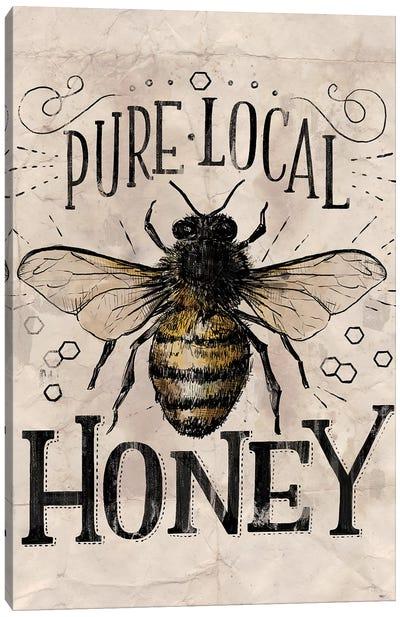 Everyday Vintage Bee Canvas Art Print