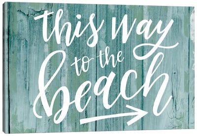 Beach Seas The Day II Canvas Art Print