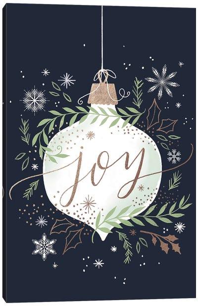 Christmas Quiet Snowflakes I Canvas Art Print