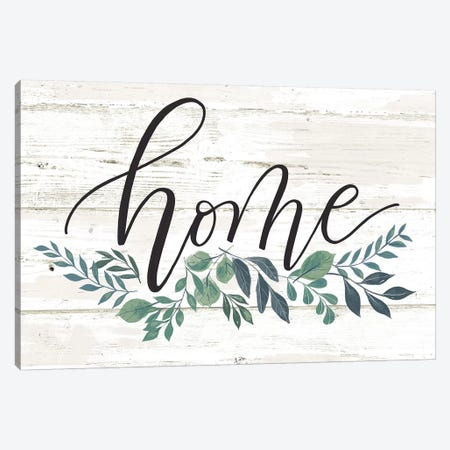 Everyday Love Lives Here II Canvas Print #LOH54} by Loni Harris Canvas Artwork