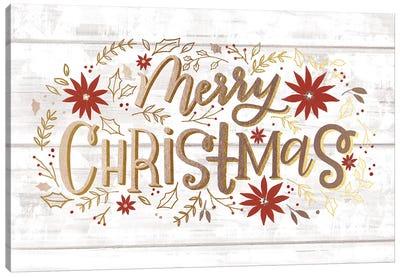 Christmas Lettered Joy III Canvas Art Print