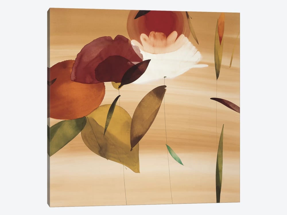 Floral Inspiration II by Lola Abellan 1-piece Canvas Wall Art