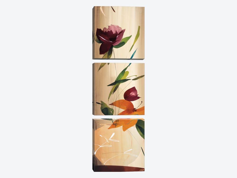 My Favorite Bouquet I by Lola Abellan 3-piece Canvas Wall Art