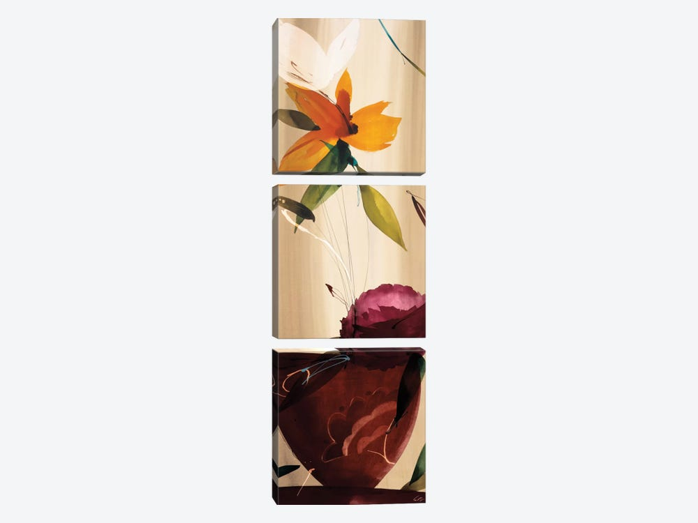 My Favorite Bouquet II by Lola Abellan 3-piece Canvas Art Print