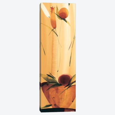 Slender Florals I Canvas Print #LOL34} by Lola Abellan Canvas Artwork