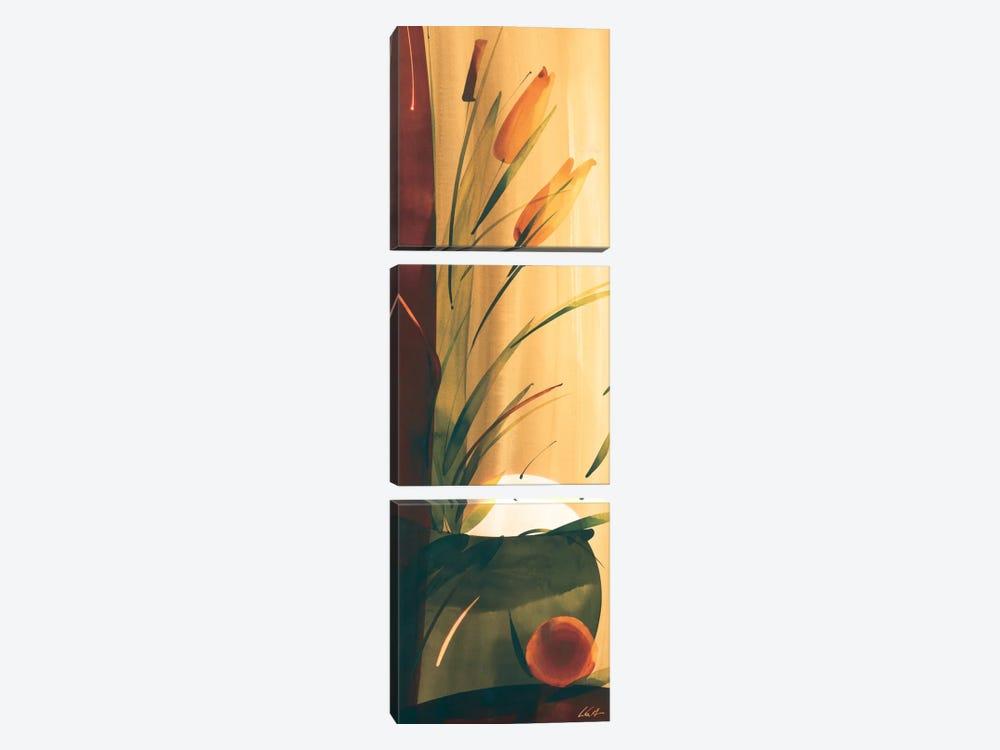 Slender Florals II by Lola Abellan 3-piece Canvas Print