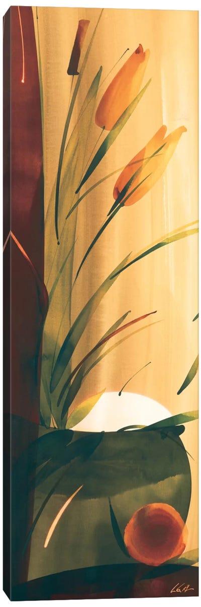 Slender Florals II Canvas Art Print
