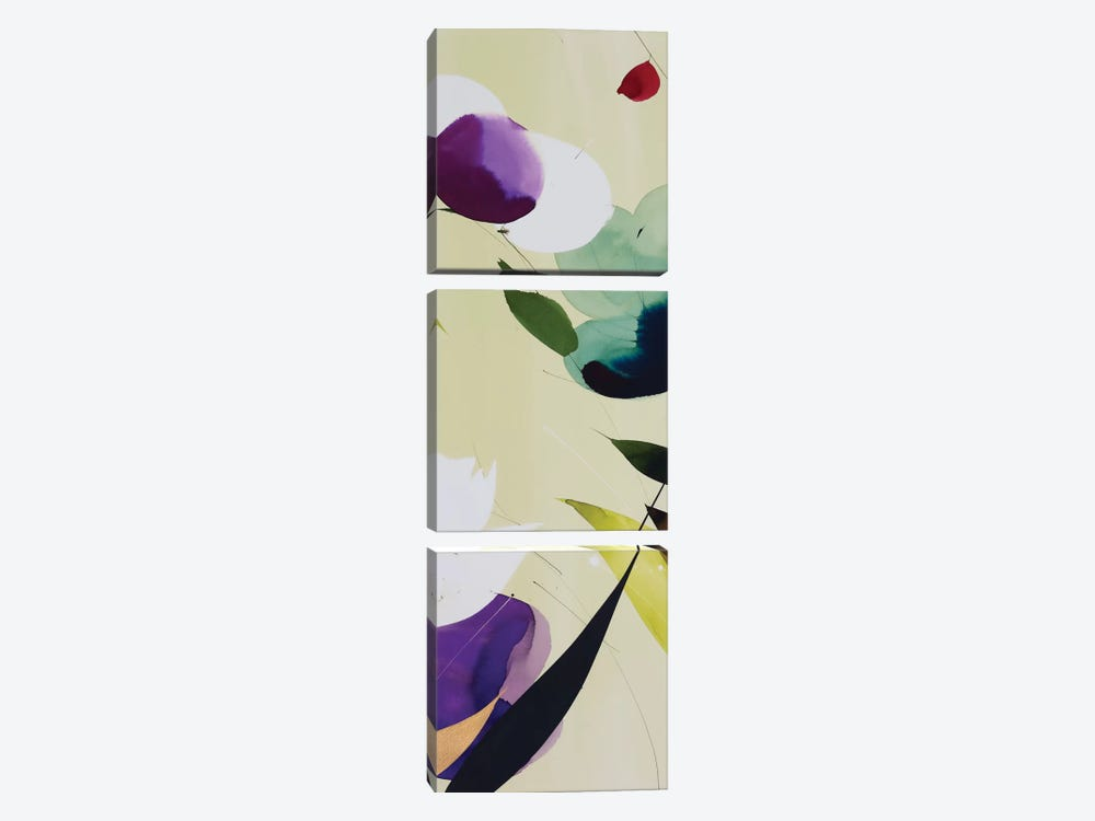 Violetta III by Lola Abellan 3-piece Canvas Art