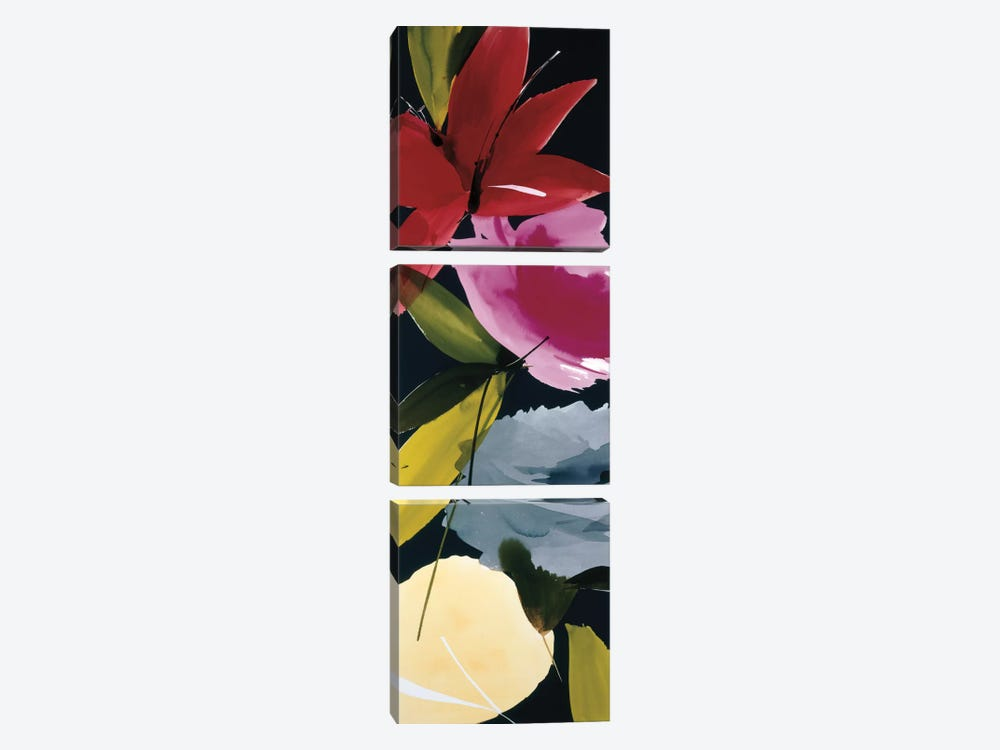 When The Wind Blows I by Lola Abellan 3-piece Canvas Print