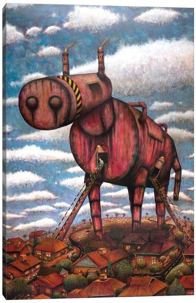 The Trojan Horse Canvas Art Print