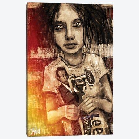 Jazz Boy Canvas Print #LOM21} by Leith O'Malley Canvas Art Print