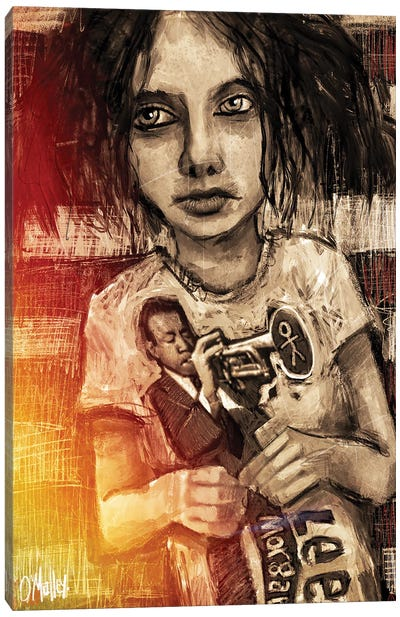 Jazz Boy Canvas Art Print