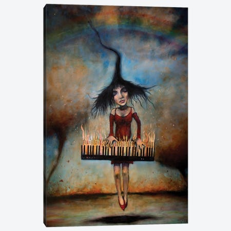Transcendence Canvas Print #LOM27} by Leith O'Malley Canvas Artwork