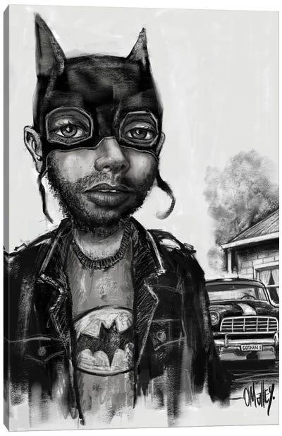Bat Boy Canvas Art Print