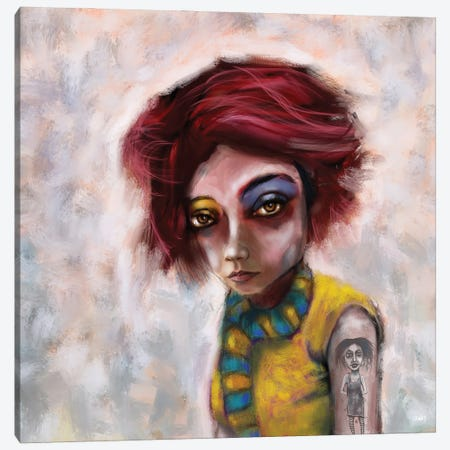The Look Canvas Print #LOM32} by Leith O'Malley Canvas Art