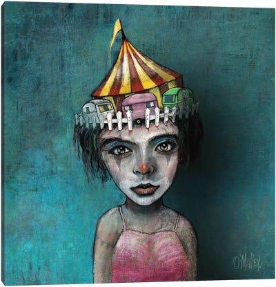 The Circus Girl Canvas Art Print
