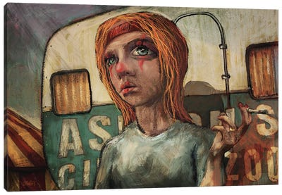 Clown Break Canvas Art Print