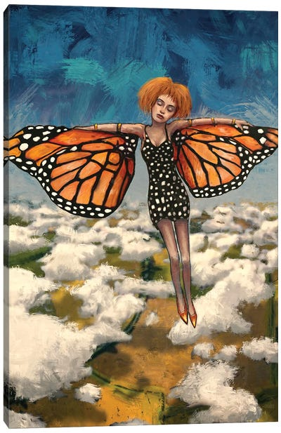 Butterfly Girl (Your Turn To Soar) Canvas Art Print