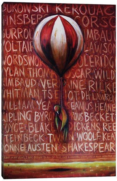 Literature And Levitation Canvas Art Print