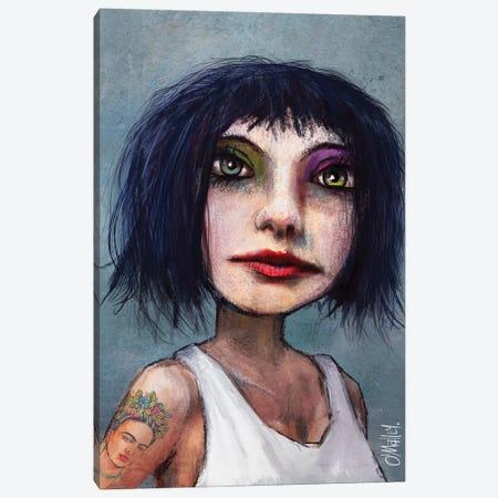 Kida Frahlo Canvas Print #LOM8} by Leith O'Malley Canvas Art Print