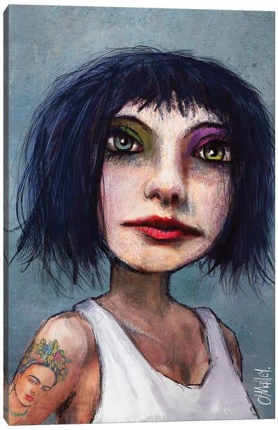 Kida Frahlo Canvas Art Print