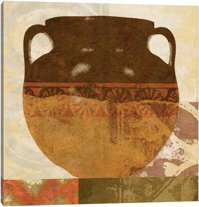 Ethnic Pot I Canvas Art Print