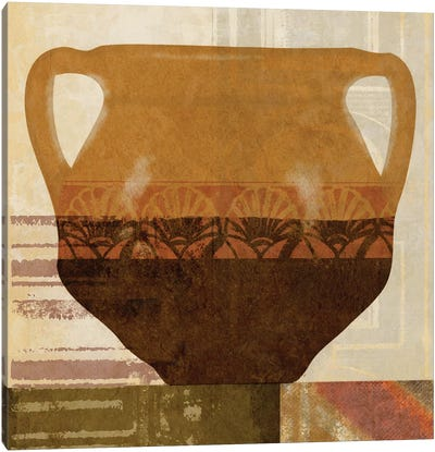 Ethnic Pot II Canvas Art Print