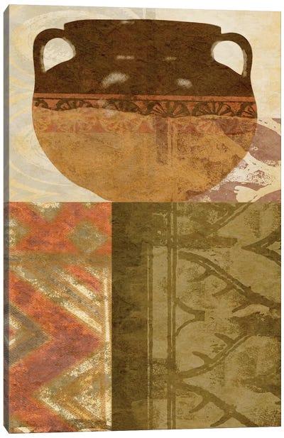 Ethnic Pot III Canvas Art Print