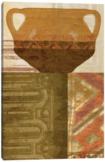 Ethnic Pot IV Canvas Art Print