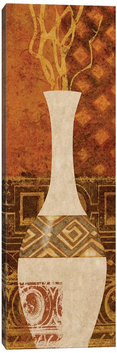 Ethnic Vase I Canvas Art Print