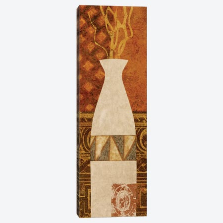 Ethnic Vase II Canvas Print #LON120} by Alonzo Saunders Canvas Print