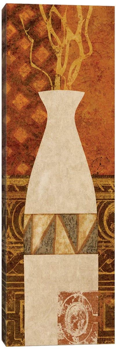 Ethnic Vase II Canvas Art Print
