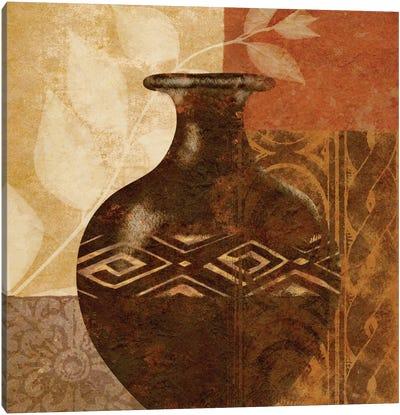 Ethnic Vase III Canvas Art Print