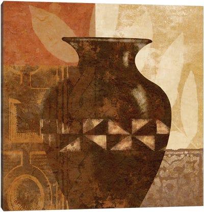 Ethnic Vase IV Canvas Art Print