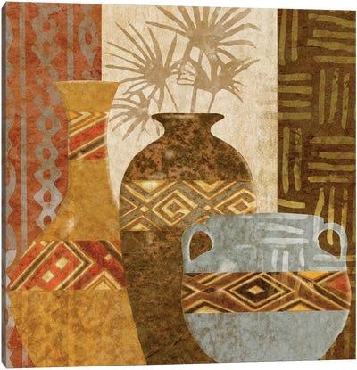 Ethnic Vase V Canvas Art Print